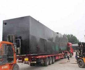 撬装式集装箱一体化污水处理设备