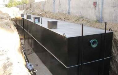 地埋式一体化污水处理设备的优缺点