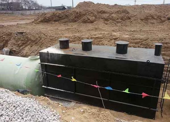 企业生活污水一体化处理设备