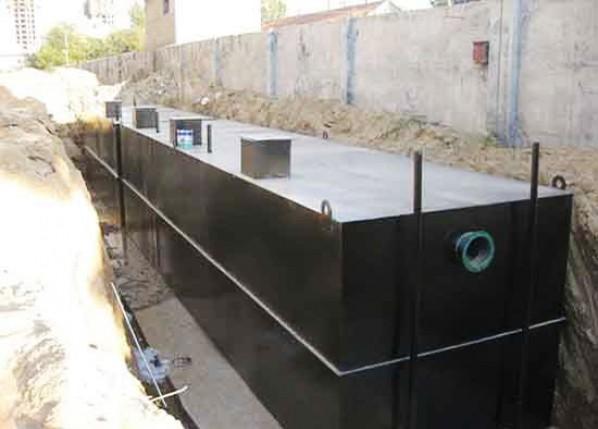 小区生活污水一体化处理设备